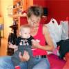 Водещата Ирина Костадинова зарязана от мъжа си с бебе на ръце