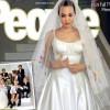 Виж сватбената рокля на Анджелина Джоли