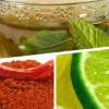 Рецепта за отслабване от зелен чай, червен пипер и лимонов сок