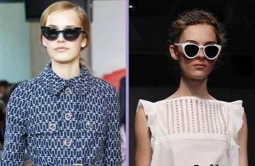 """"""" Котешки очи """" – хит сред слънчевите очила за 2012 г. !"""