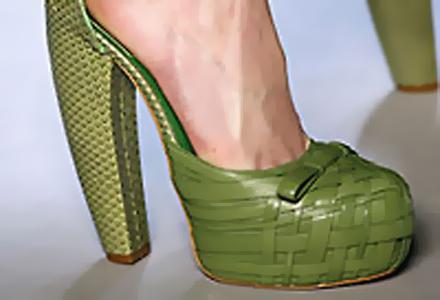 Крокодилски и зелени – екстравагантни обувки  хит през пролетта и лятото