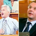 Волен Сидеров и Сергей Станишев