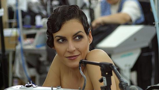Диана Любенова се опъна за филм