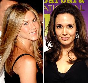 Войни между булки в Холивуд. Анджелина Джоли предвижда развод за Дженифър Анистън!