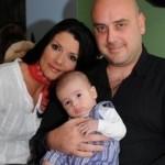 Антон Краус с Кали и синът им Марк