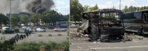 """На 18 юли на летище """"Бургас"""" е извършен бомбен атентат срещу автобус с израелски туристи, при който са убити 7 души и 32-ма са ранени. Калина Крумова помага на пострадалите, превеждайки им в бургаската болница"""