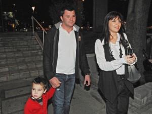 Калканджиева с Тачо и сина им по времето, когато бяха щастливо семейство