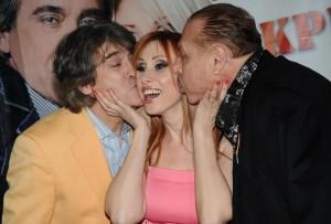 С Орлин Горанов и бившия си мъж Иван Тенев