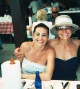 Лилия с приятелката си Дарина Павлова