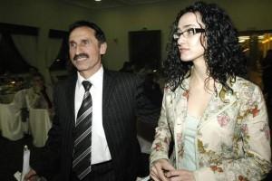 Милко Калайджиев и съпругата му Маргарита