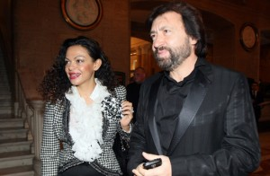 Банев със съпругата си Евгения