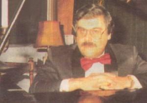 Томи Димчев в годините, когато е декан