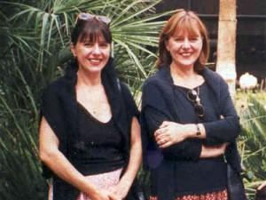 Ана-Мария Тонкова с близначката си Мари-Анна
