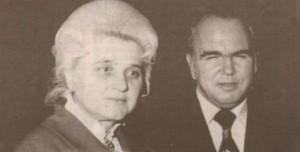"""Евтим Евтимов и покойната вече Петя Йорданова, авторка на """"Устрем"""", негова муза за """"Обич за обич"""""""