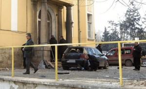 """Избухналата бомба пред редакцията на вестник """"Галерия"""""""
