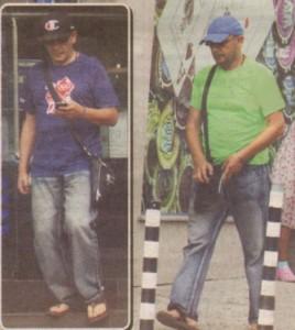 Цяло лято музикантът изкара с 1 един чифт дънки и джапанки.