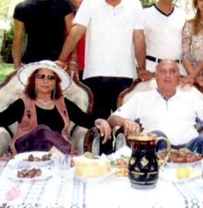 Царица Костадинка и Цар Киро позират в пълния си бласък