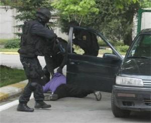 Арестът на Боев