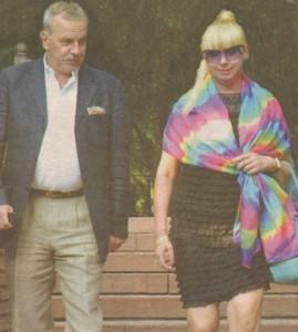 Янкулов не откъсва очи от Михаела