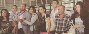 Цялото семейство Пулеви се изсипа на летището през август миналата година, когато Тервел се завърна от Олимпиадата в Лондон с бронзов медал