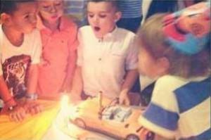 Валери Божинов-младши на рождения си ден