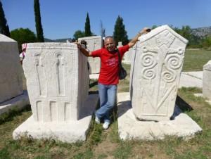 Сред богомилските стечки в село Благай, Федерация Босна и Херцеговина