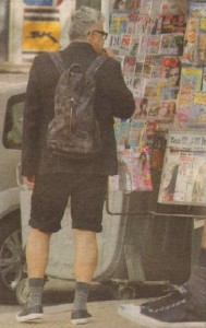 """Звездата от крими поредицата """"Под прикритие"""" се разхождаше в този вид по """"Витошка"""". Пенев се спираше пред магазините със сезонни намаления"""