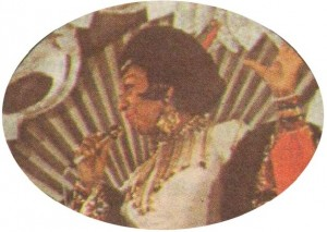1970 г. Самата Жозефин Бейкър гостува на фестивала