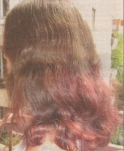 Боядисване на коса с разтворими сокчета