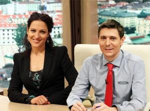 Ани Цолова и Виктор Николаев все още са най-гле-.даните водещи на сутрешен блок