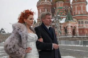 Антония Петрова със съпруга си Александър Бередин