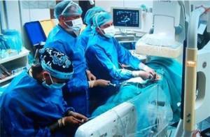 Снимки от безкръвните процедури