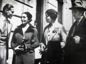 Боян Пенев, Багряна и Дора Габе, в която е влюбен великият Пейо Яворов