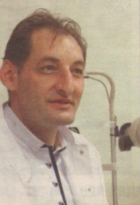 """Д-р Алек Топов, завеждащ отделение """"Офталмология"""" в болница """"Токуда"""""""
