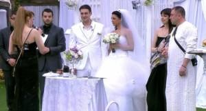 На сватбата си
