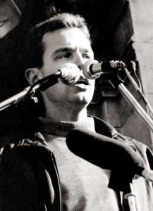 Емил Кошлуков на митинг - 18 ноември 1989 г.