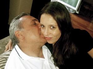 Христо Стоичков с дъщеря си Михаела