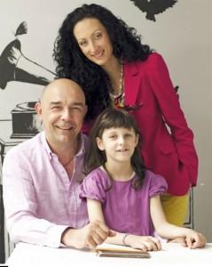 Със съпругата си Боряна и дъщеря им Димана. Милото има и друга по-голяма дъщеря.Тя е от първия му брак и се казва Дария