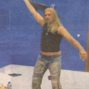 Коцето Калки беше гвоздеят в програмата на женския гуляй