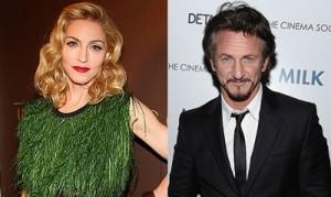 Мадона и Шон Пен
