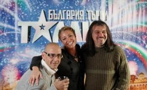 С Любен Дилов-син и Хилда Казасян