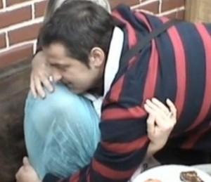 Мира Радева със съпруга си Ивайло