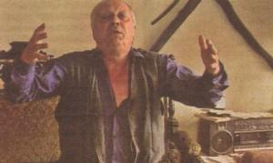 Рангел Вълчанов в една от любимите си роли в живота - на шопски зевзек