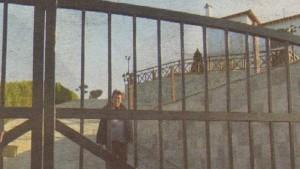 """Немската прислужница на Плевнелиеви в имението в Уранополи, заснета от вестник """"Атака"""" през 2011-а"""