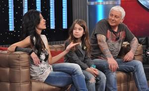 Стенли със съпругата си Локо и дъщеря им