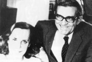 Дългогодишният соцпремиер със съпругата си Соня Бакиш