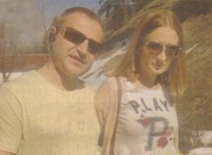 Цветелина Фидосова и съпругът й Николай Недков разпускат сред природата