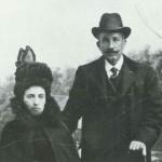 Благодетелят Димитър Кудоглу със съпругат си Екатерина