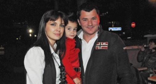 Жени Калканджиева с Тачо и синът им