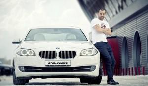 Костадин Стоянов с  БМВ-то си